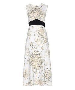Giambattista Valli | Printed Crêpe Dress With Appliqué