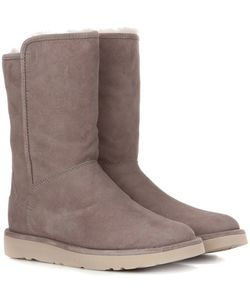 UGG | Abree Short Ii Fur-Lined Suede Ankle Boots