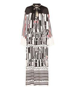 Etro | Printed Silk Maxi Dress