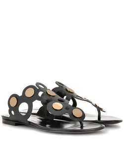 Pierre Hardy | Penny Lace Leather Sandals