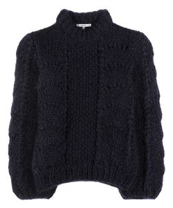 Ganni   The Julliard Mohair And Wool Knitted Sweater