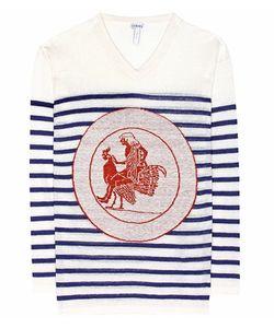Loewe   Printed Linen Sweater