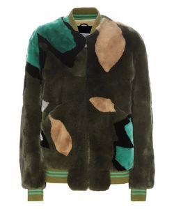 Army Yves Salomon   Fur Bomber Jacket