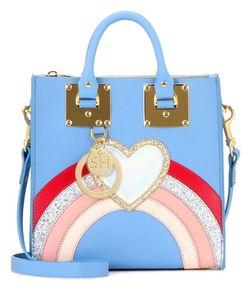 Sophie Hulme   Multi Albion Square Leather Shoulder Bag