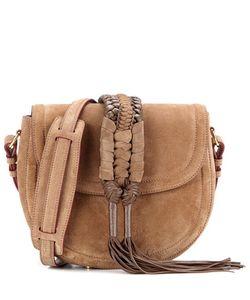 Altuzarra | Ghianda Knot Saddle Suede Shoulder Bag