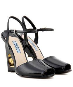 Prada | Patent Leather Sandals