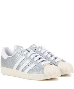 Adidas Originals   Superstar 80s Embossed Leather Sneakers