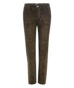 Stouls | Clark Cropped Suede Trousers