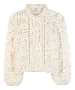 Ganni   The Julliard Mohair And Wool Sweater
