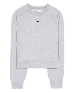 Off-White | Daisy Woman Pleat Crew Neck Pullover