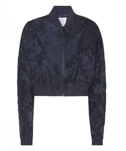 Rosie Assoulin | Cropped Jacquard Bomber Jacket