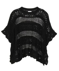 See by Chloé | Knitted Cotton Poncho