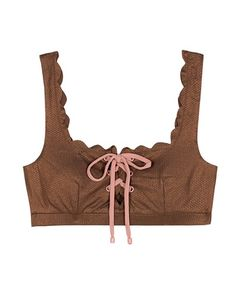 Marysia   Palm Springs Tie Bikini Top