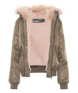 Army Yves Salomon | Fur-Lined Jacket