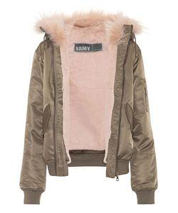 Army Yves Salomon   Fur-Lined Jacket