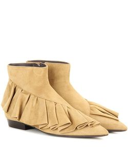 J.W.Anderson | Ruffle Suede Boots