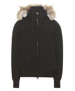 Canada Goose | Savona Down Bomber Jacket With Fur