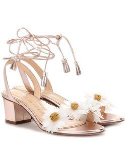 Charlotte Olympia | Tara Embellished Leather Sandals