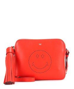 Anya Hindmarch | Smiley Leather Cross-Body Bag