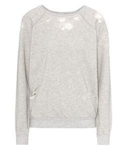 Unravel | Distressed Cotton Sweatshirt