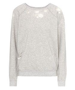 Unravel | Distressed Cotton Sweatshirt