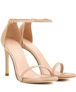 Stuart Weitzman | Exclusive To Nudistsong Patent Leather Sandals