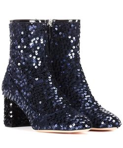 Rochas | Sequinned Ankle Boots