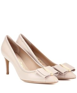 Salvatore Ferragamo | Edina 70 Leather Pumps