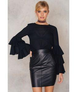 Blk Dnm | Leather Skirt 12