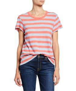 b7066099 Splendid - Rugby Stripe Crewneck Short-Sleeve T-Shirt