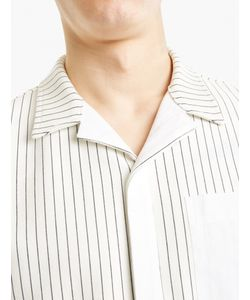 Tim Coppens | Striped Cotton Bowling Shirt