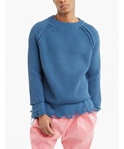 Haider Ackermann | Distressed Hem Cashmere Sweater