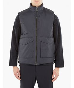 Our Legacy   Navy Quilted Gilet