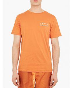 Saturdays Surf Nyc | Orange Cotton Logo T-Shirt