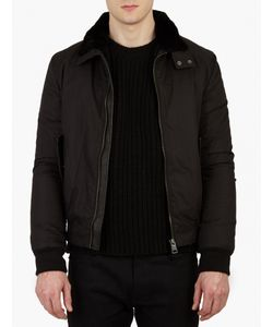 Yves Salomon | Detachable Beaver-Fur Lined Harrington Jacke