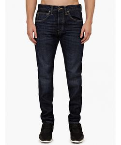Edwin | Ed55 Tapered Fit Selvedge Jeans In Burner Wash