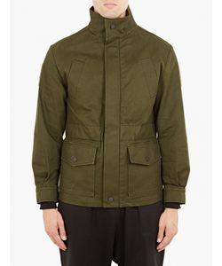 Gosha Rubchinskiy   Khaki Denim Utility Jacket