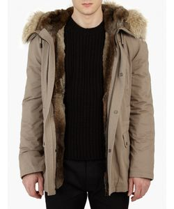 Yves Salomon | Light Rabbit-Fur Lined Parka