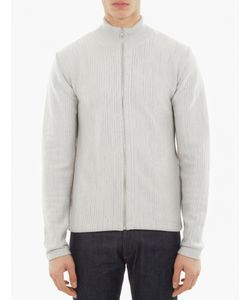 S.N.S. Herning | Zip-Up Merino-Blend Sweater