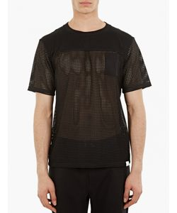 White Mountaineering | Mesh Panels Pocket T-Shirt