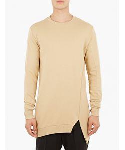 Thom Krom | Sand Asymmetric Sweatshirt