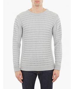 S.N.S. Herning | Waffle-Knit Wool Sweater