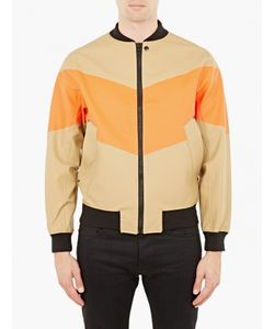 Stutterheim | Sand And Orange Vastertorp Bomber Jacket