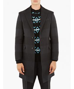 Raf Simons | Contrast Hooped Senior Coat