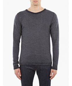 S.N.S. Herning | Navy Wool Sweater