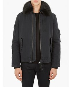 Yves Salomon | Fur-Trimmed Bomber Jacket
