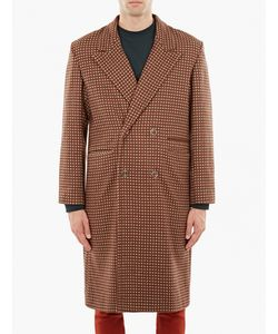 Cmmn Swdn | Jacquard Single-Breasted Wool Coat