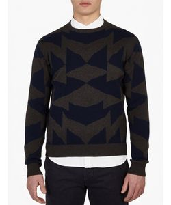 Saturdays Surf Nyc | Mirror Patterned Cotton Sweater