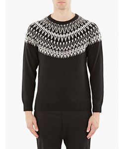 White Mountaineering | Fairisle Knitted Sweater