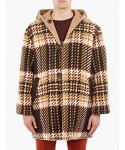 Cmmn Swdn | Checked Reversible River Duffle Coat